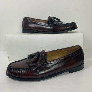 Cole Haan Burgundy Loafers Shoes Men Sz 10D